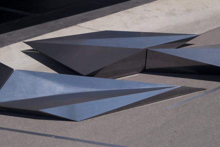 Геометрические формы предмета инсталляции