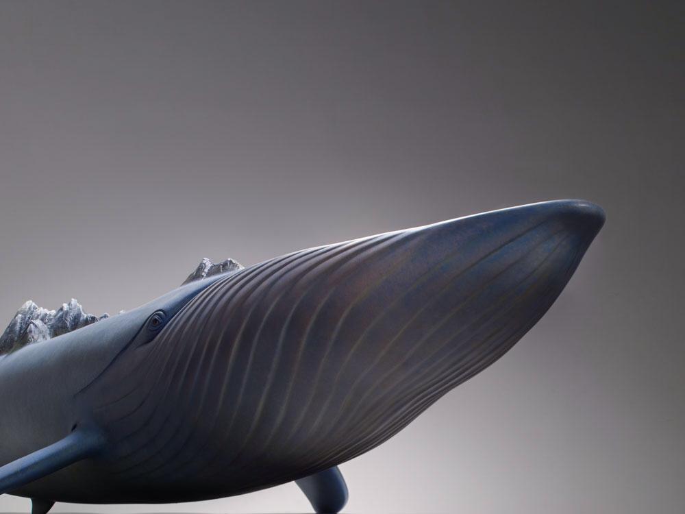 Нос скульптуры рыбы
