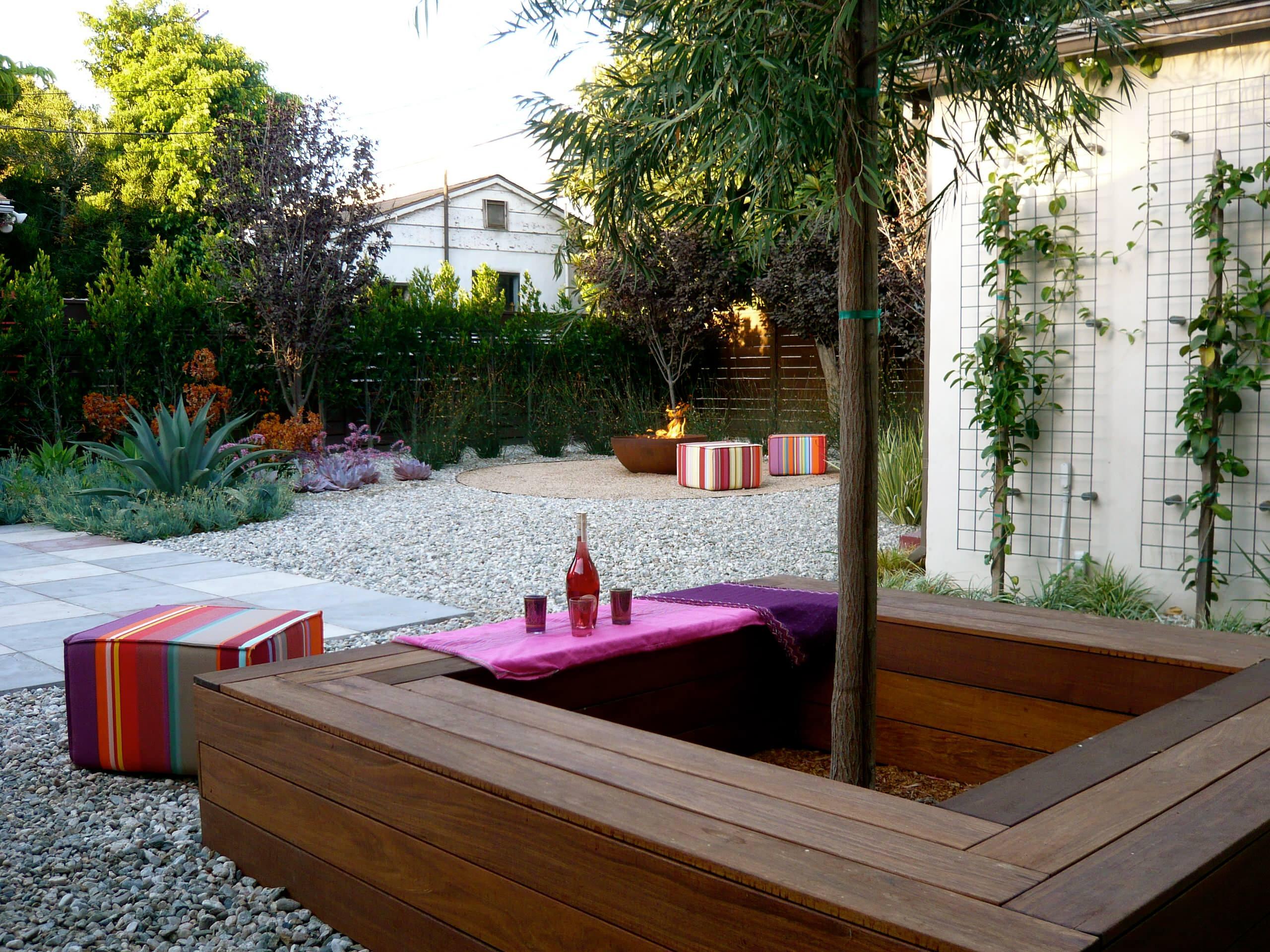 Внутренний дворик для отдыха