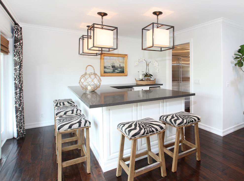 Кухня в прибережном стиле