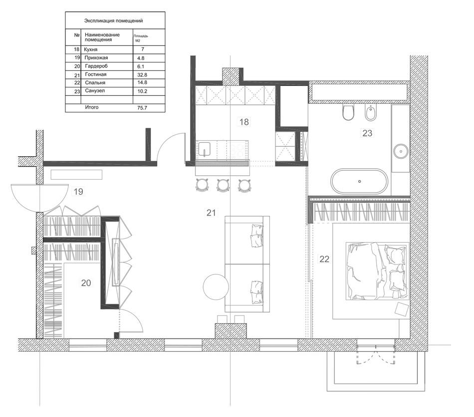 Планировка в квартире
