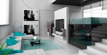 Interior design in the style of hi-tech-04