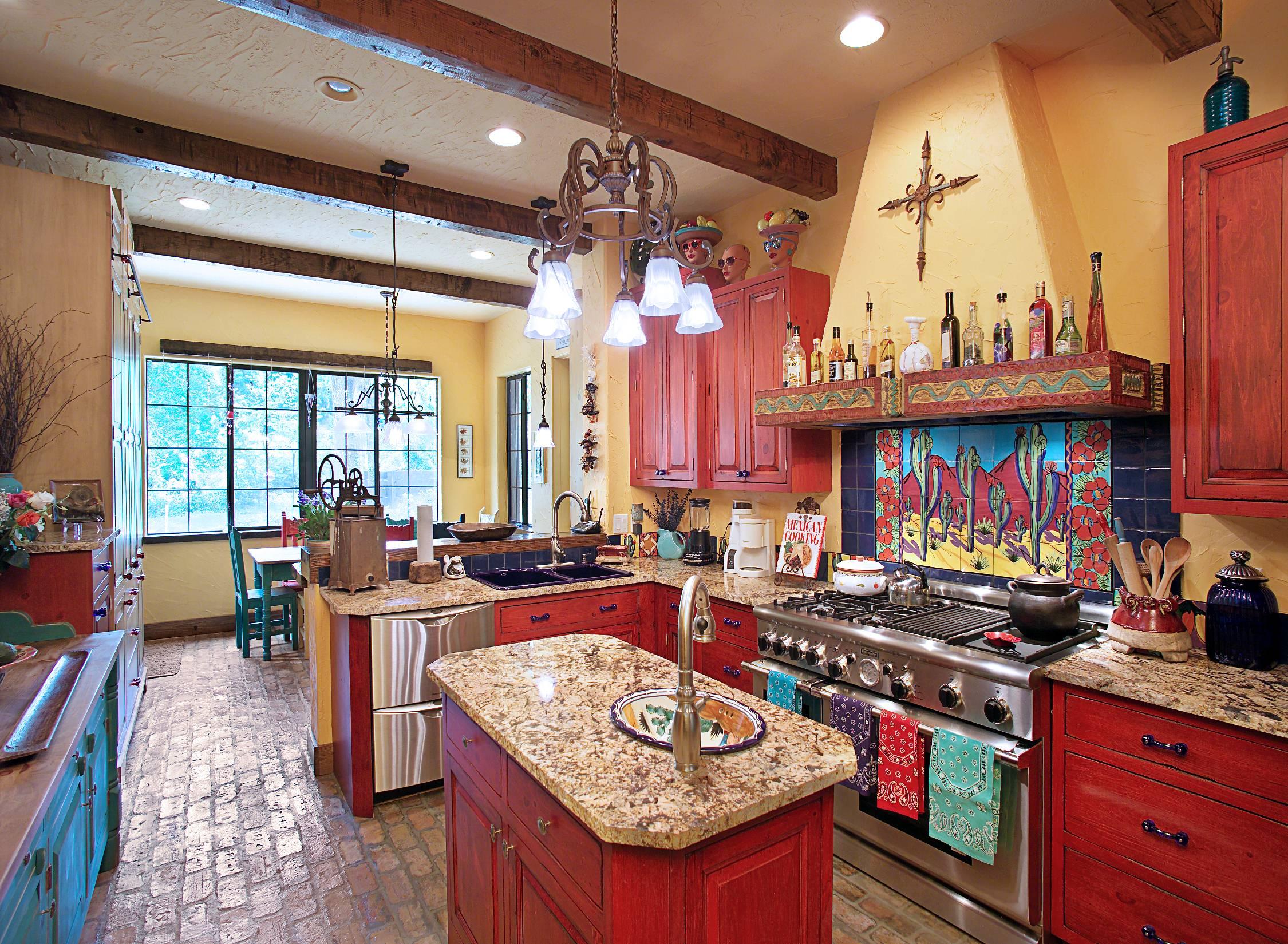 Кухня в юго-западном стиле