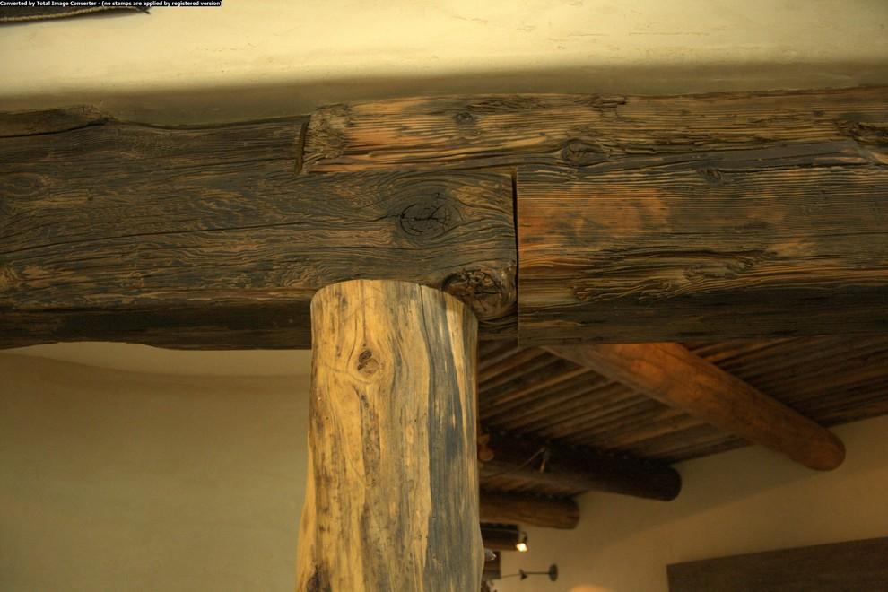 Деревянные балки в юго-западном стиле