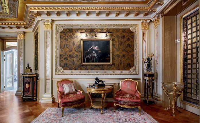 Прекрасное оформление дворца в Подмосковье