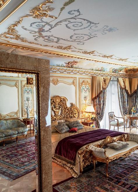 Первоклассное оформление дворца в Подмосковье
