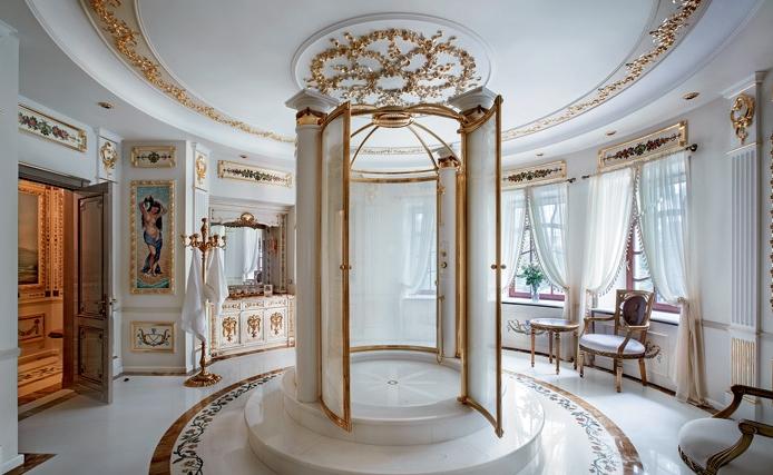 Креативное оформление дворца в Подмосковье