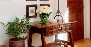 Interior with flowers photo-01