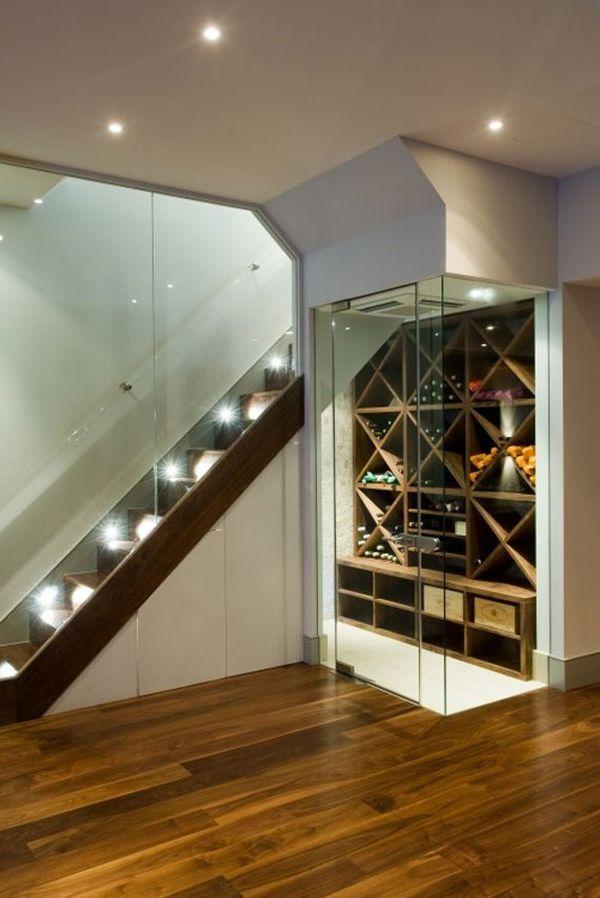 Светильники на лестнице