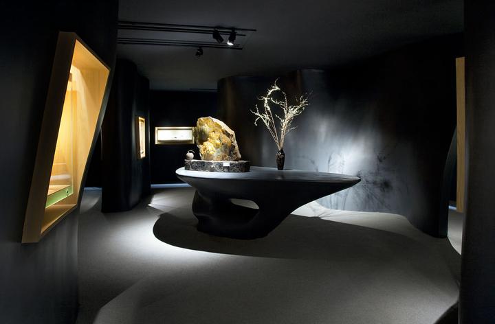 Прекрасное оформление интерьера музея нефрита Jade в Шанхае