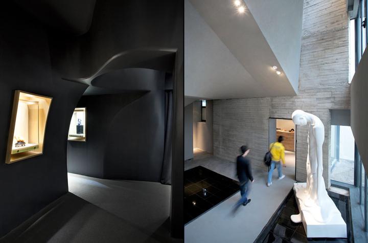 Чудесное оформление интерьера музея нефрита Jade в Шанхае