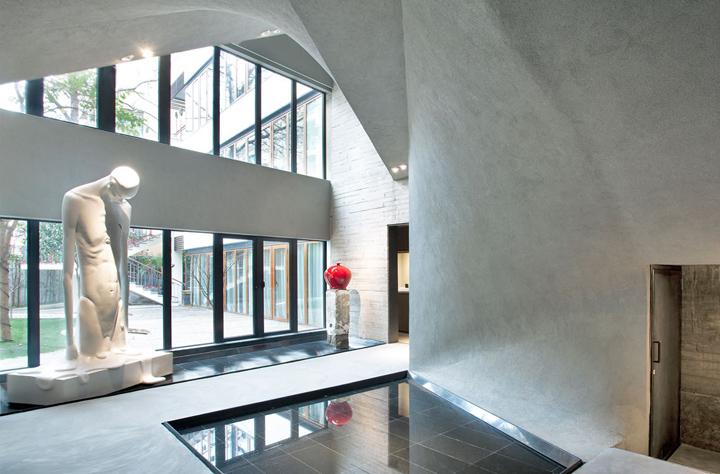 Изумительное оформление интерьера музея нефрита Jade в Шанхае