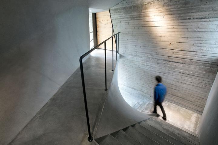 Современное оформление интерьера музея нефрита Jade в Шанхае