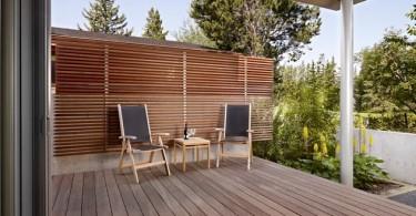 Оформление зоны отдыха во внутреннем дворе