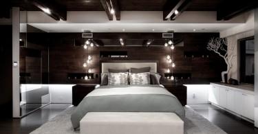 Освещение в интерьере спальной комнаты