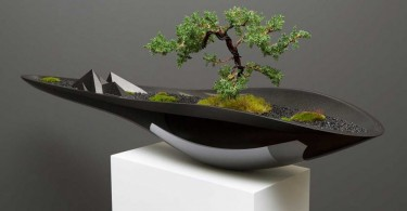 Элегантный Kasokudo Bonsai Planter от Adrian Magu