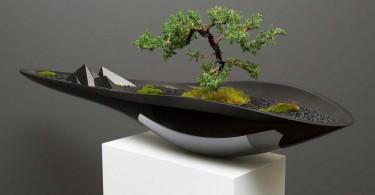 Элегантный Kasokudo Bonsai Planter от Adrian Magu