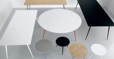Коллекция столов Spillo Table от дизайнерской компании Extendo