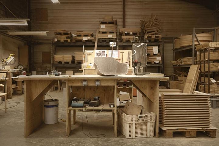 Мастерская по изготовлению дизайнерских стульеев Kuskoa Bi