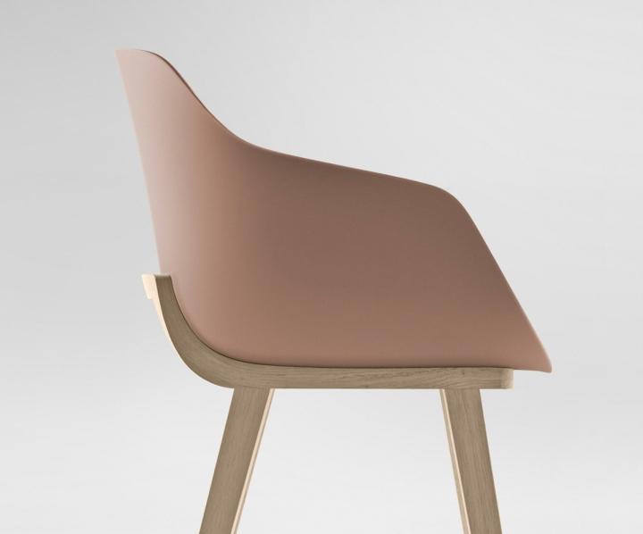 Оригинальный дизайнерский стул Kuskoa Bi