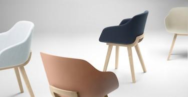 Оригинальные дизайнерские стулья разных цветов