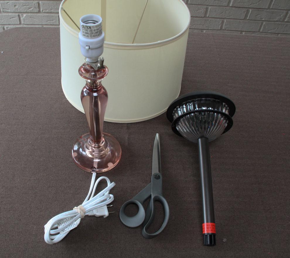 Материалы для реконструкции лампы