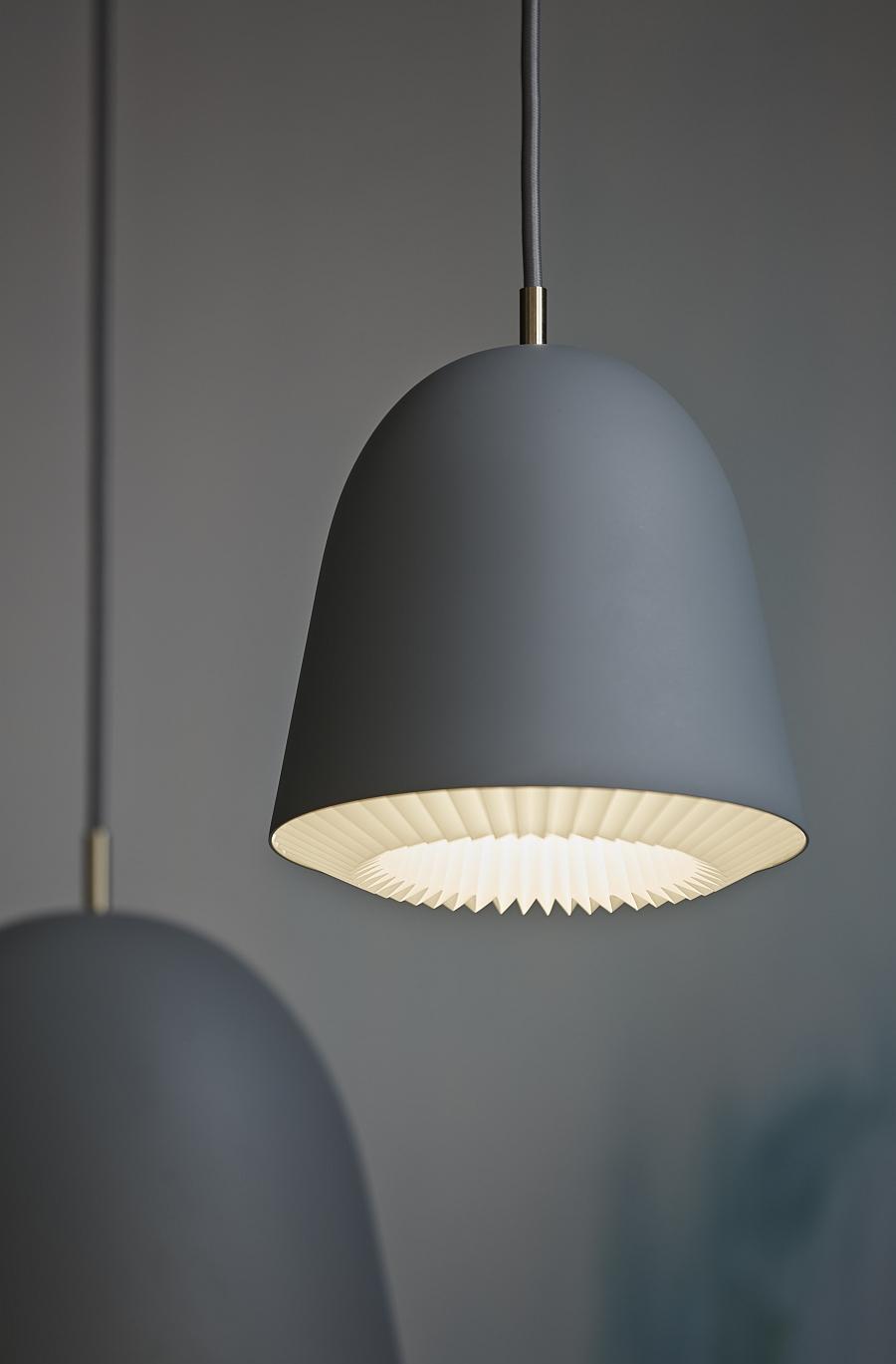 Флакон серого светильника