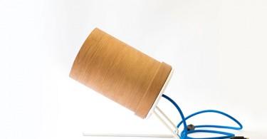 Уникальный и функциональный дизайн деревянного светильника от Nueve Design Studio