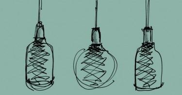 Лампа Afillia c оригинальным 3D-принтом