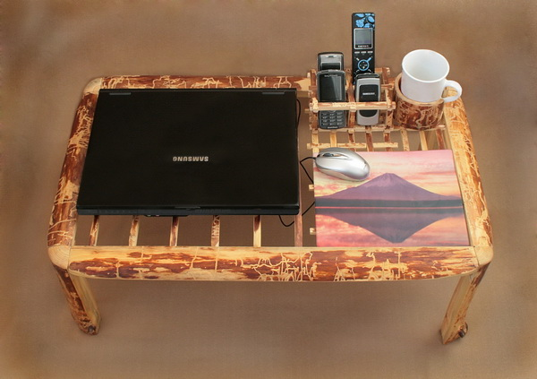 Little table for a laptop with their own hands from Elena Sokolova