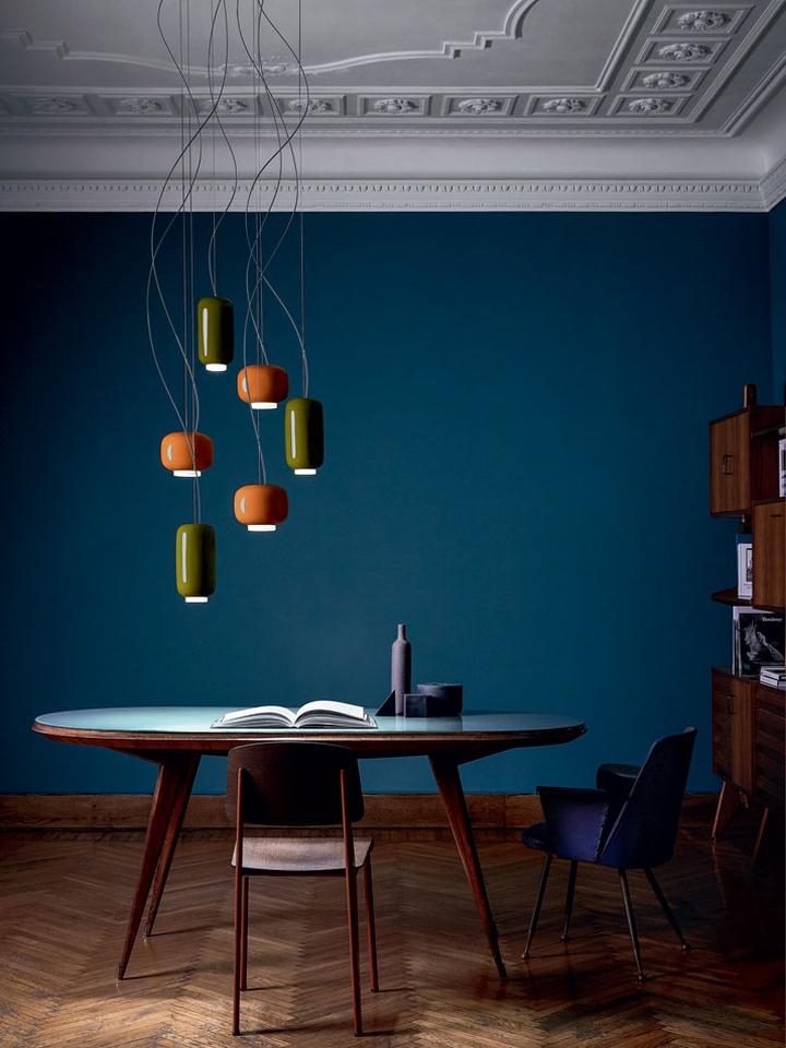 Оригинальный дизайн разноцветных подвесных светильников Light Portraits