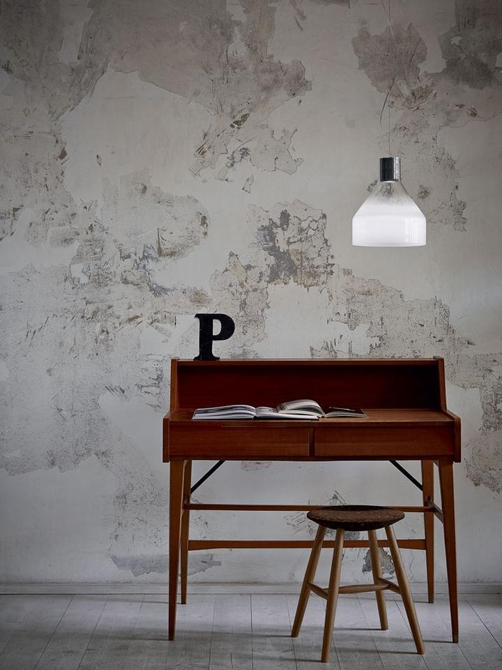 Оригинальный дизайн подвесного светильника Light Portraits над рабочим столом домашнего офиса