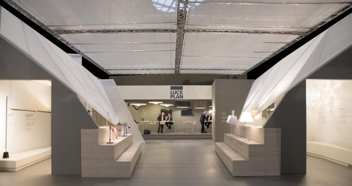Павильон выставки осветительных элементов