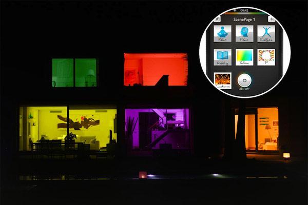Смартфон для управления освещением