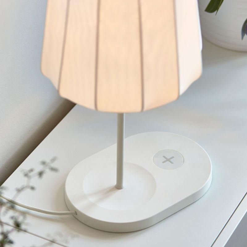 Fabric pendant lights for living room design