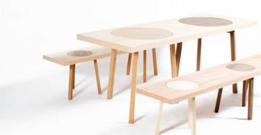 Практичная мебель для гостиной Hockerbank