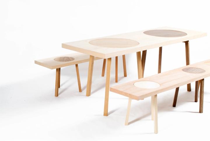 Дизайнерский комплект мебели