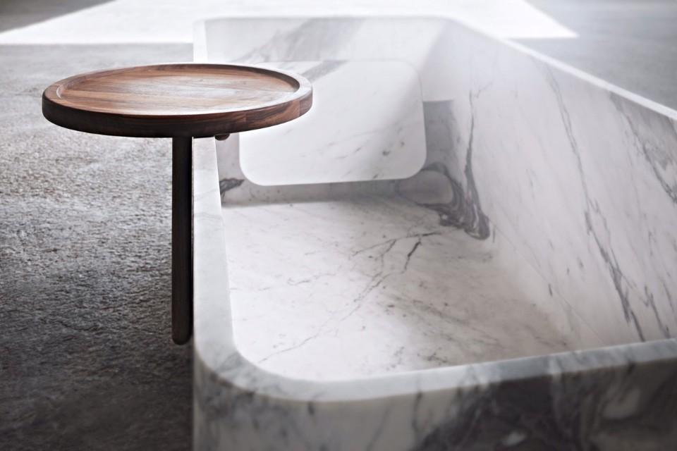 Ванна из мрамора от Лоренцо Дамиани