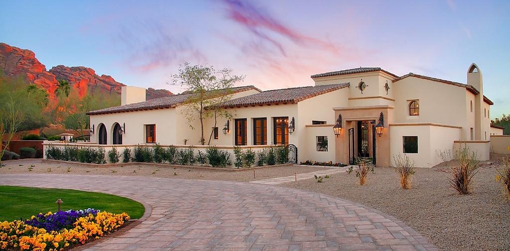 Дом в стиле юго-запада Америки