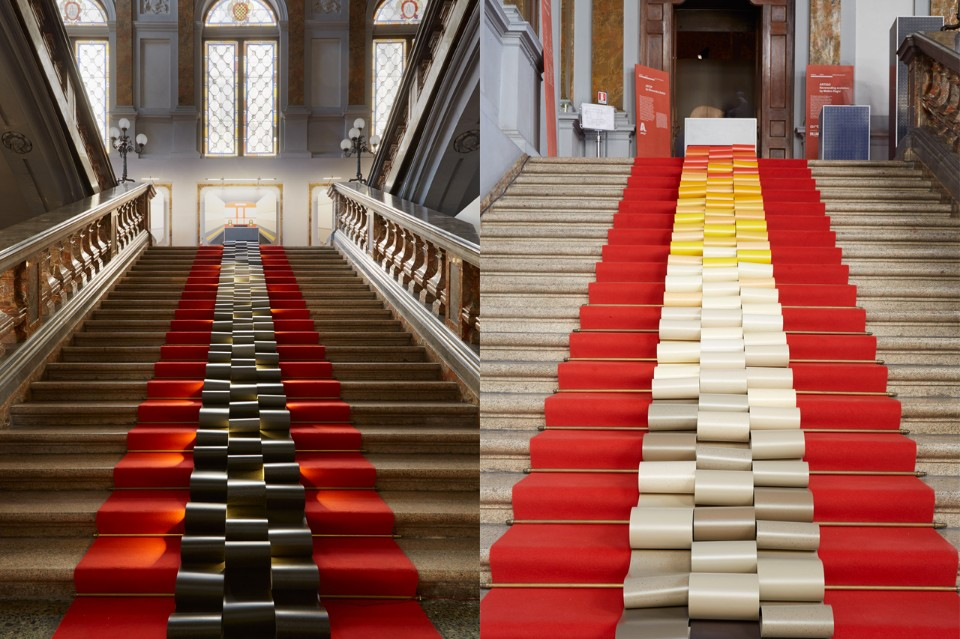Инсталляция Маттео Рагни для Linvisibile