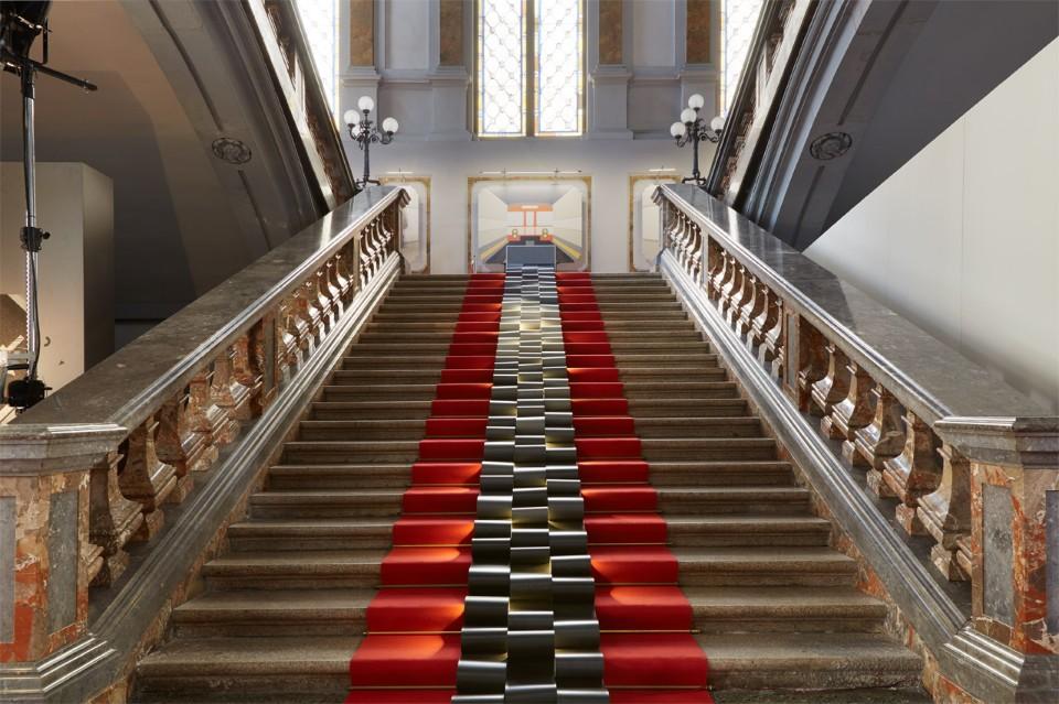 Дизайнер Маттео Рагни: лестница из серии Frozen