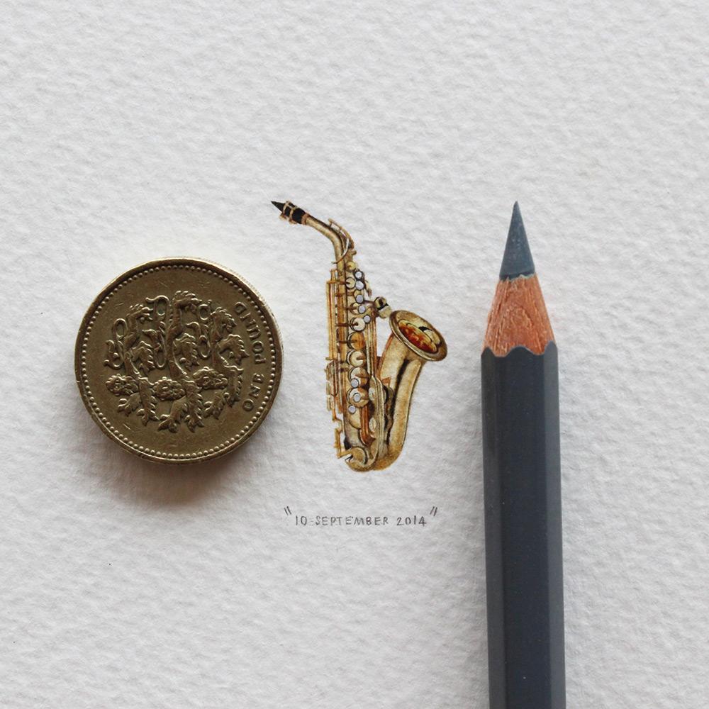 Музыкальный инструмент в миниатюре