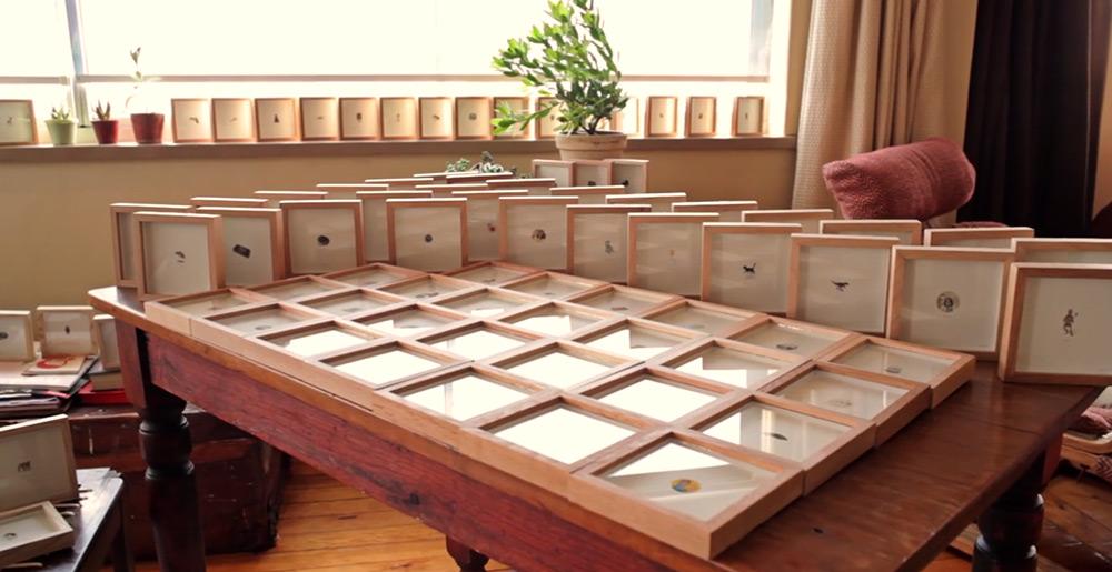Рамки с миниатюрными рисунками
