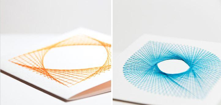 Креативное оформление открытки