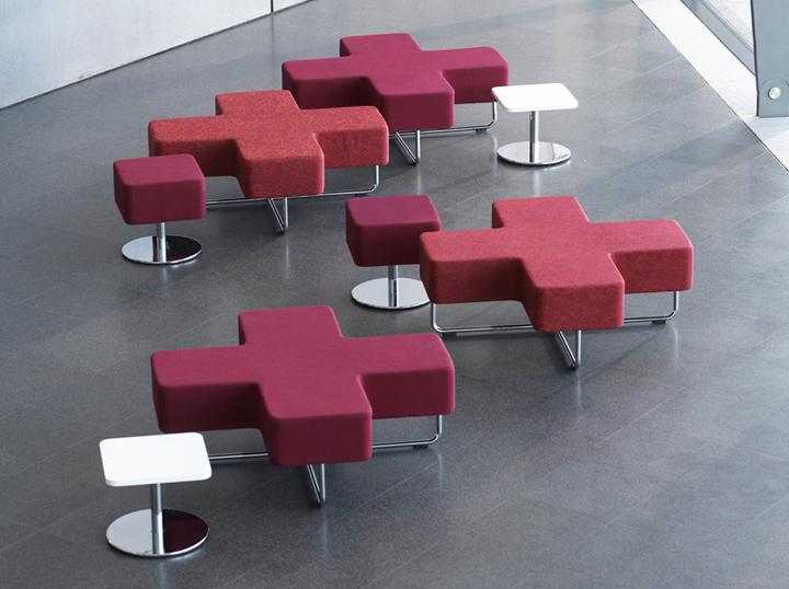 Прекрасные модульные сиденья от John Coleman