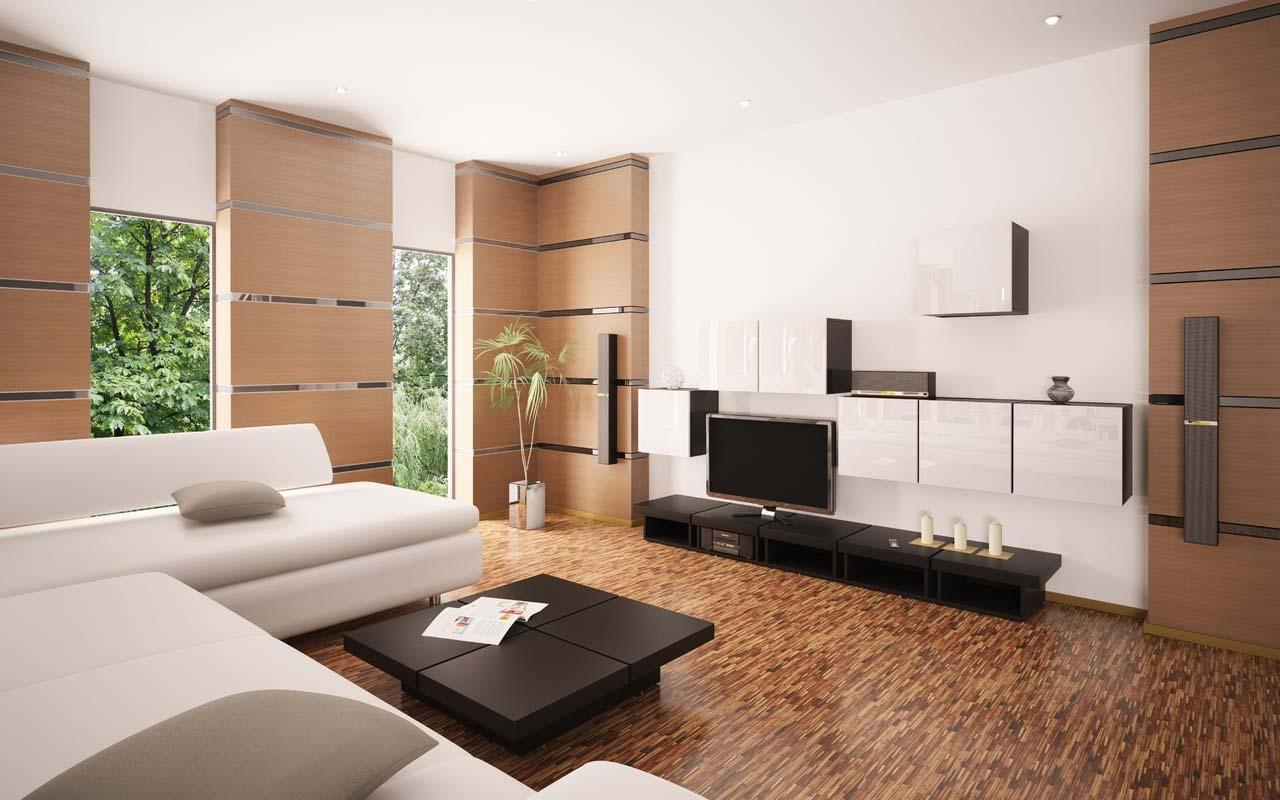 Модернизм в гостиной