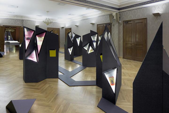 Креативная витрина на выставке