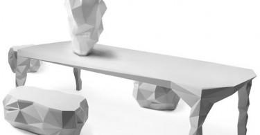 Набор мебели Arctic Rock от дизайнера Jasper van Grootel