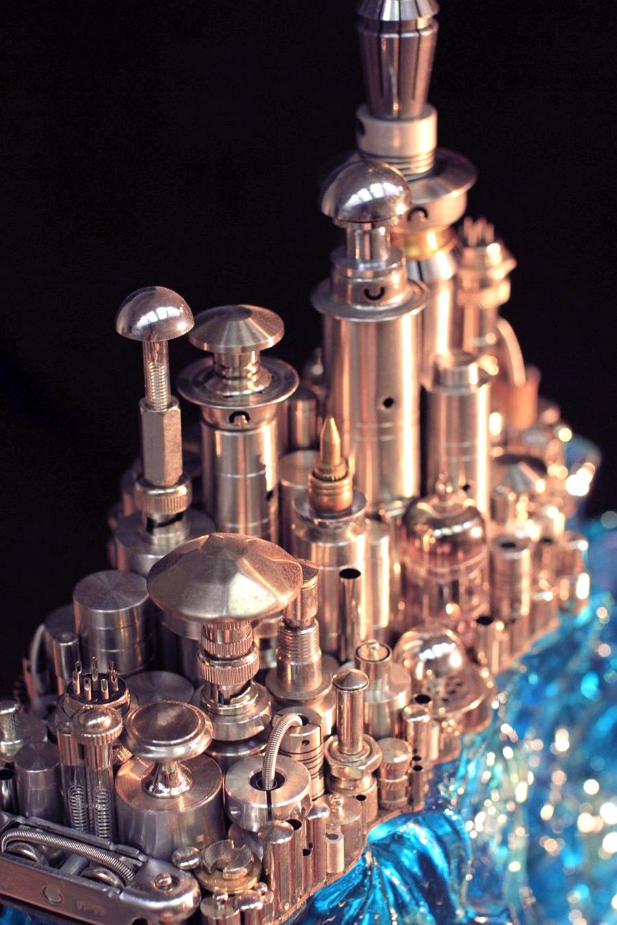 Восхитительная металлическая скульптура от Ху Шаоминга