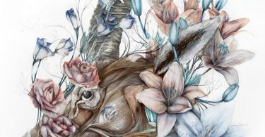 Mimesis: новые анатомические картины в цветочном обрамлении от Нунцио Пачи
